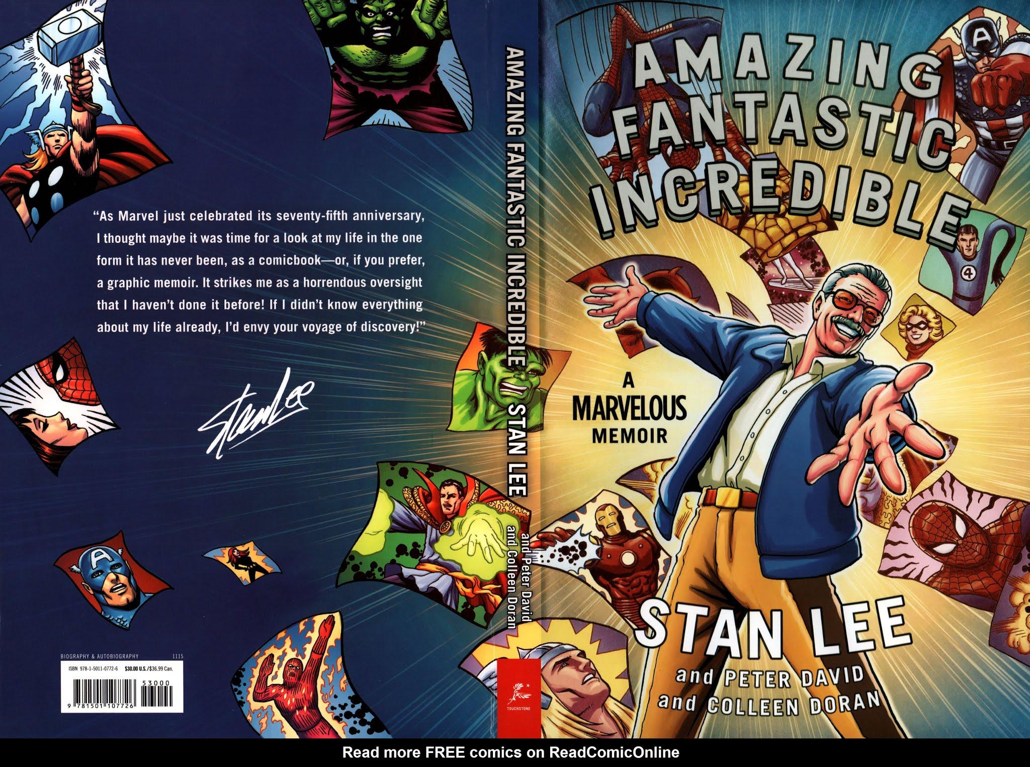 Amazing Fantastic Incredible: A Marvelous Memoir TPB_(Part_1) Page 1