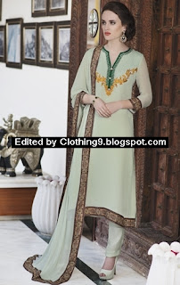 salwar kameez with straight pants styles