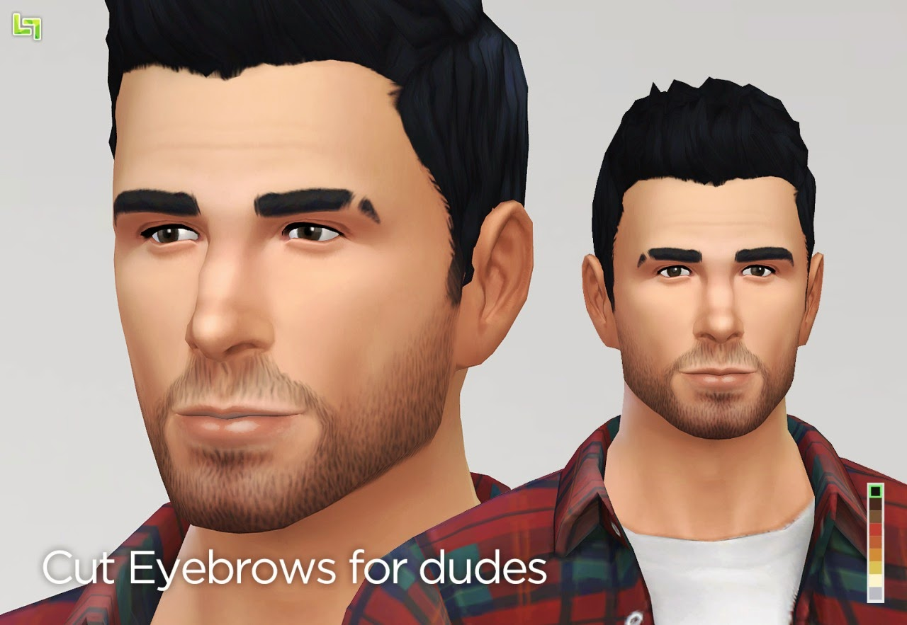 My Sims 4 Blog Cut Eyebrows By Lumialover Sims