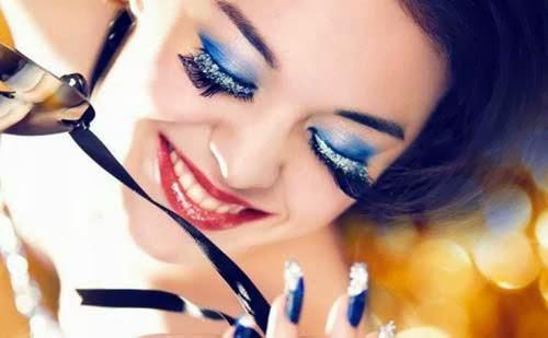 Maquillajes de fantasia para Navidad