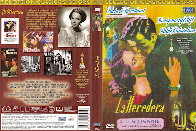 Carátula, Cover, Dvd: The Heiress | 1949 | La heredera