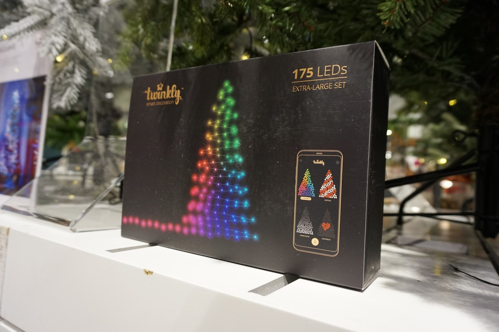 Twinkly App Controllable LED Christmas Lights