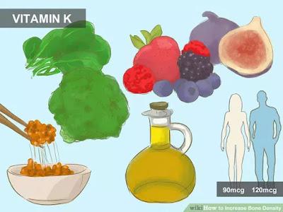 manfaat dan kegunaan vitamin K untuk tulang