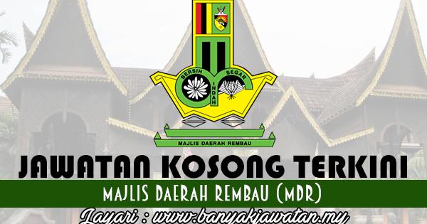 Jawatan Kosong di Majlis Daerah Rembau (MDR) - 20 February ...