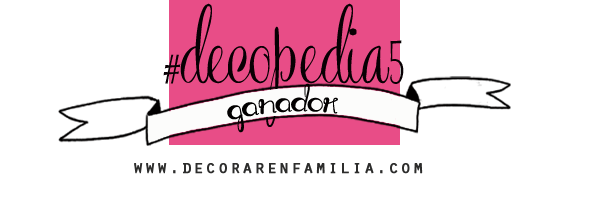 Ganador Decopedia DEF DEco - Decorar en familia
