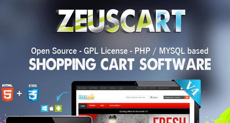 ZeusCart eCommerce application