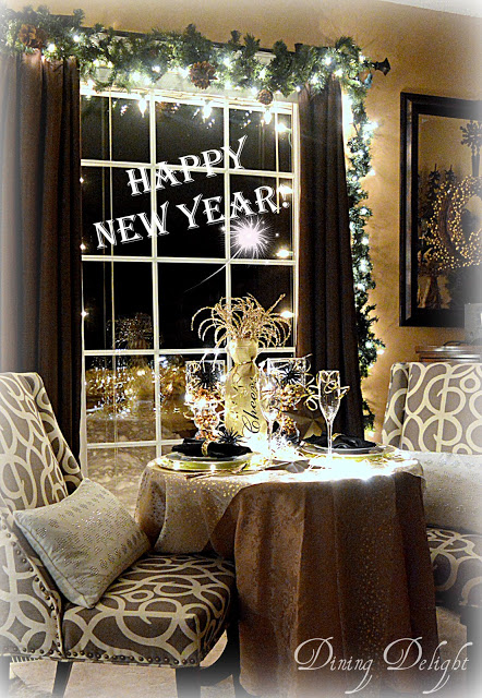New Year Table for Two