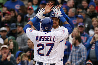 Addison Russell Cubs Fantasy Baseball