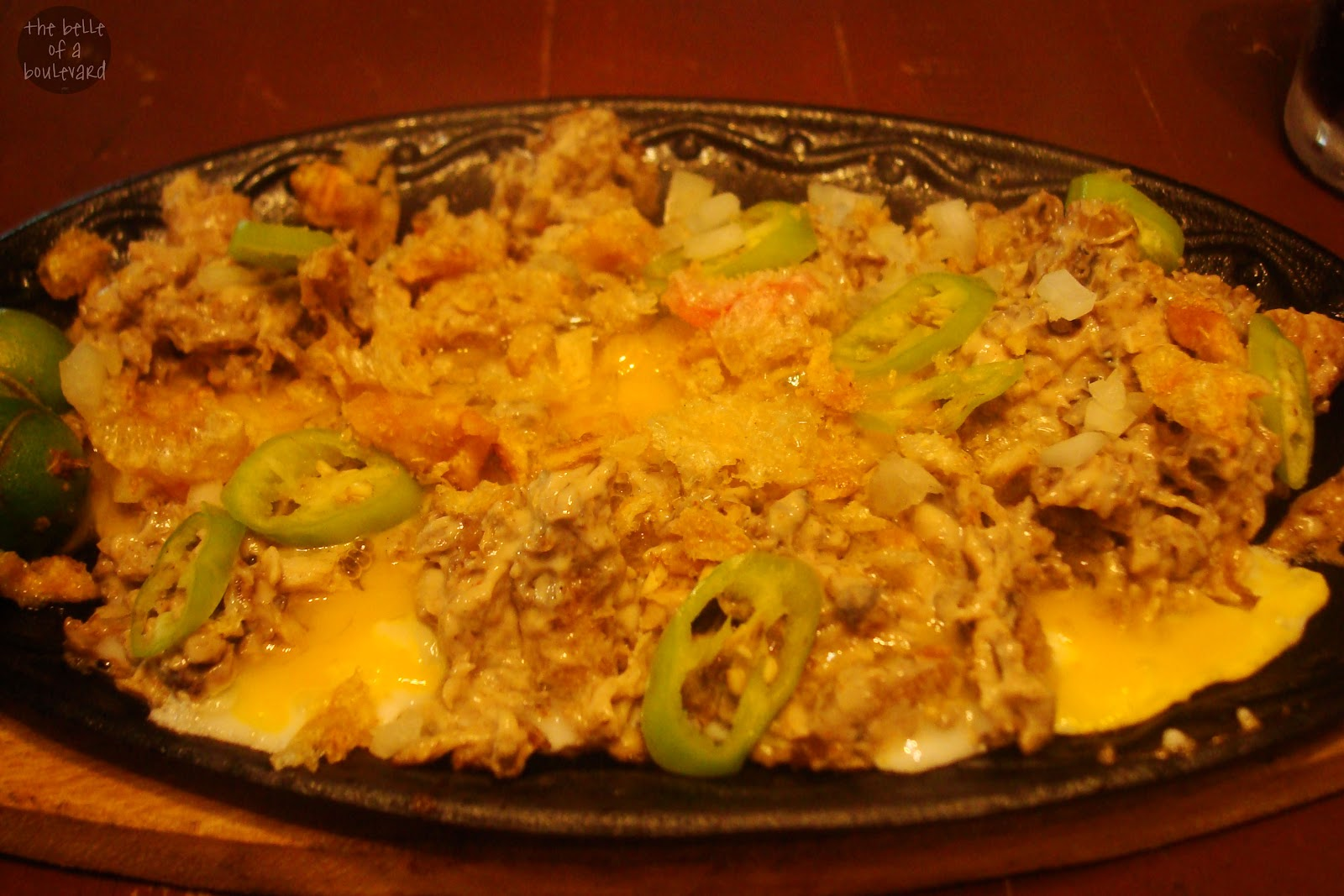 Chubbies Qcina Cafe's Special Sisig