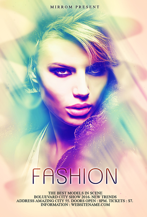 Design a Fashion Flyer Photoshop Tutorial