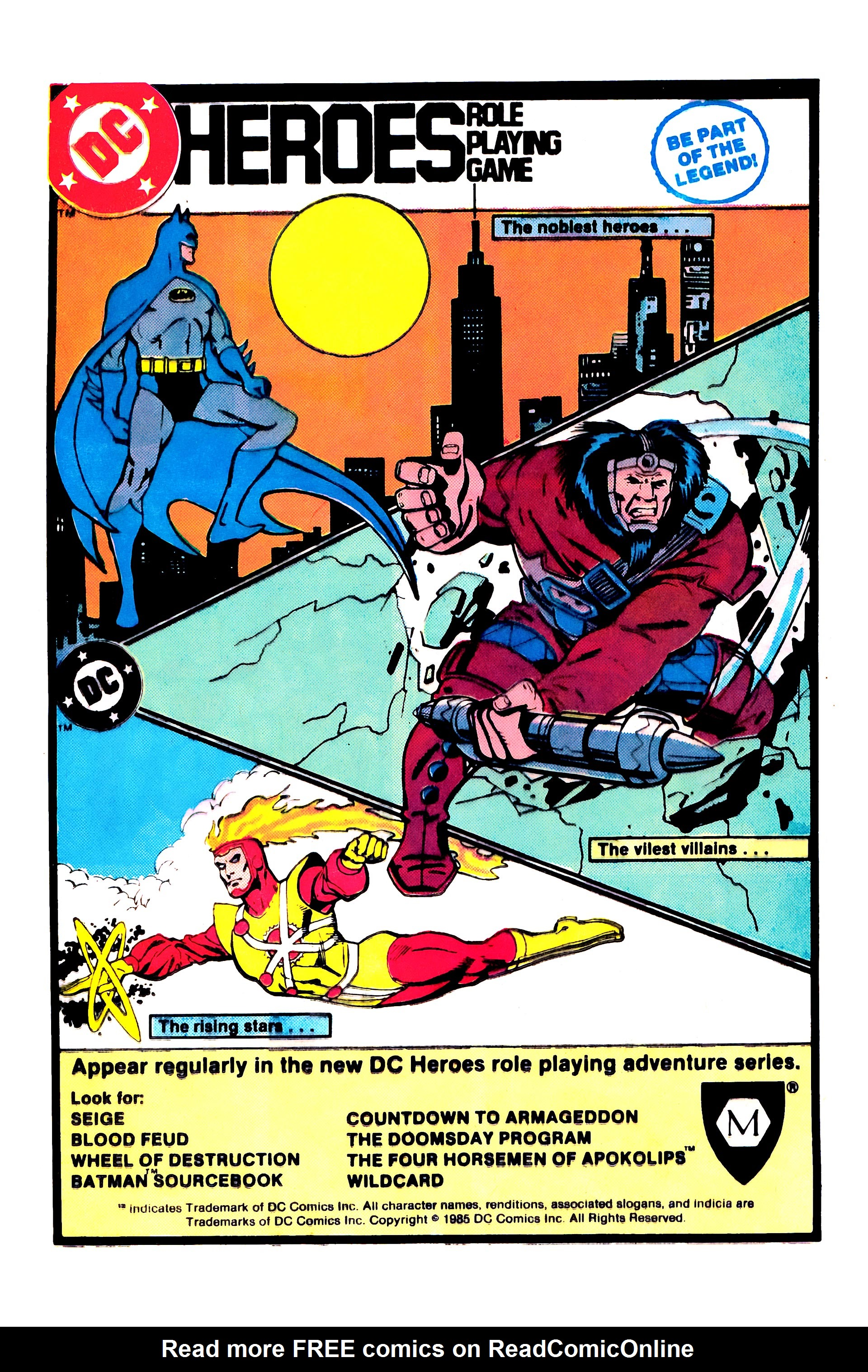 Read online Secret Origins (1986) comic -  Issue #1 - 13