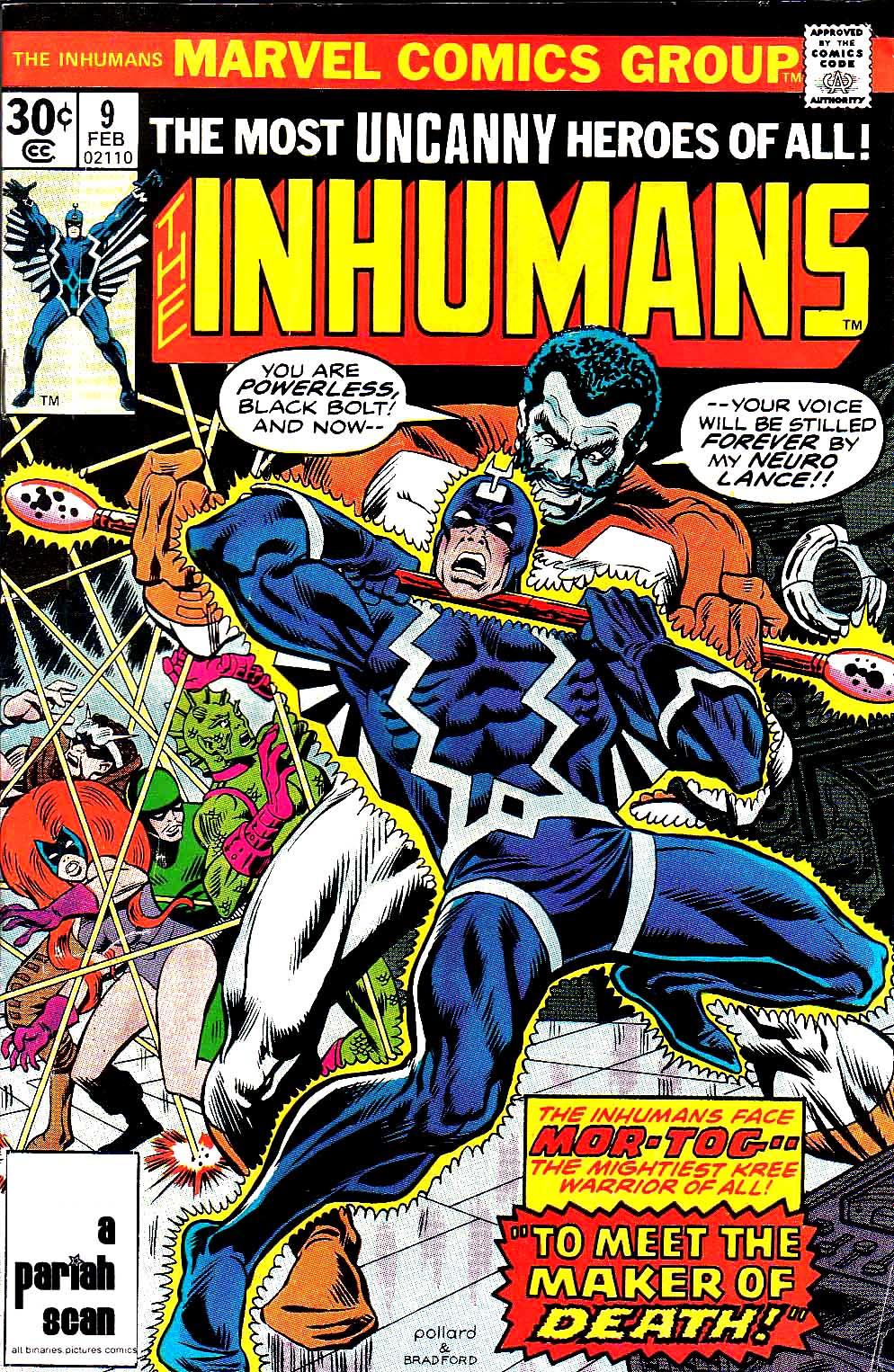 Inhumans (1975) issue 9 - Page 1
