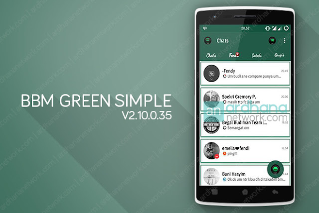 BBM Green Simple V2.10.0.35