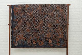 Kain Batik Tulis Motif Sepetikan Irengan Granit