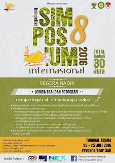Simposium Internasional PPI Dunia ke-8 di Cairo