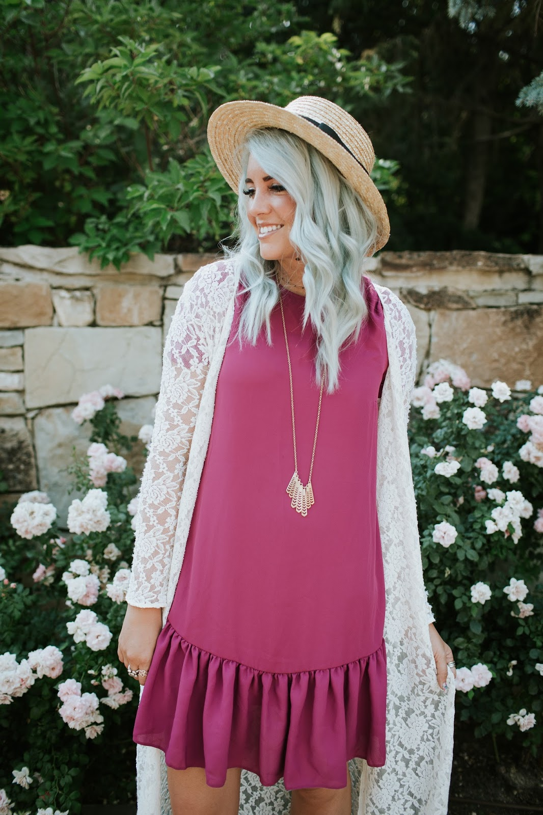 Blue Hair, Silver Hair, Utah Fashion Blogger
