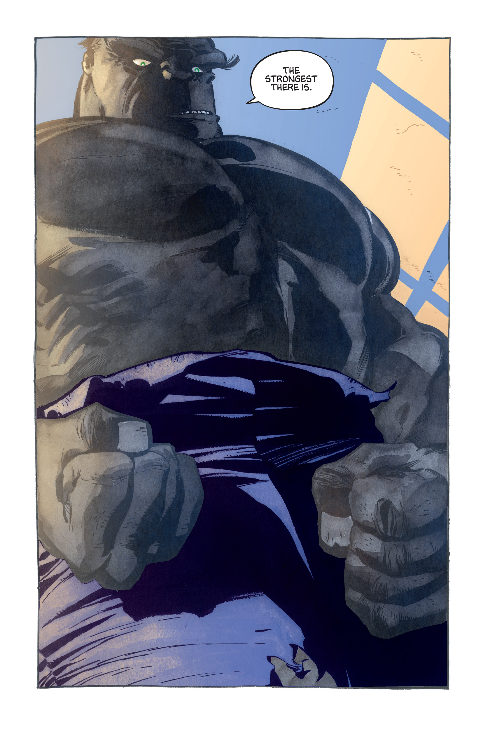 Read online Hulk: Gray comic -  Issue #1 - 14
