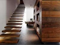 20 Model Dan Bentuk Tangga Rumah Mewah Terbaru