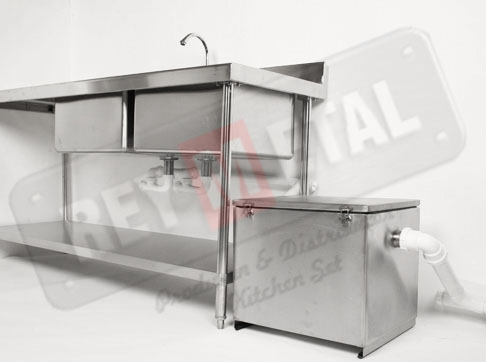 Jual Grease Trap Jogja, Bahan Stainless Steel