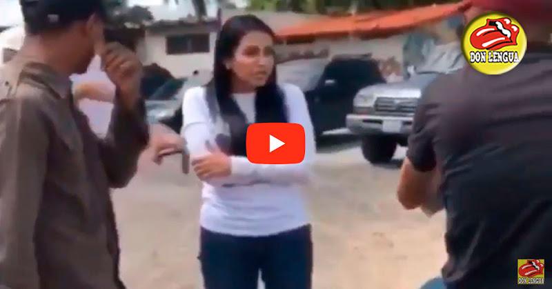 Delsa Solórzano enfrentó a funcionarios del SEBIN que la perseguían en Cumaná