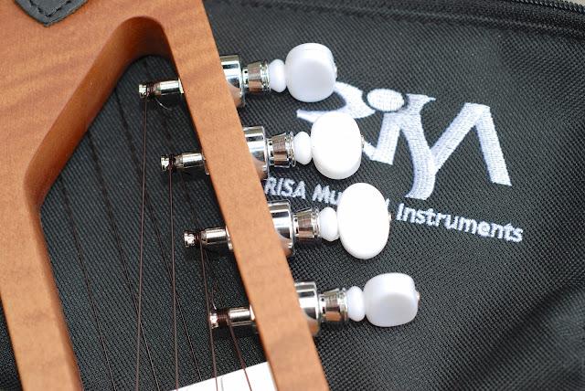 Risa Uke solid ukulele planetary tuners