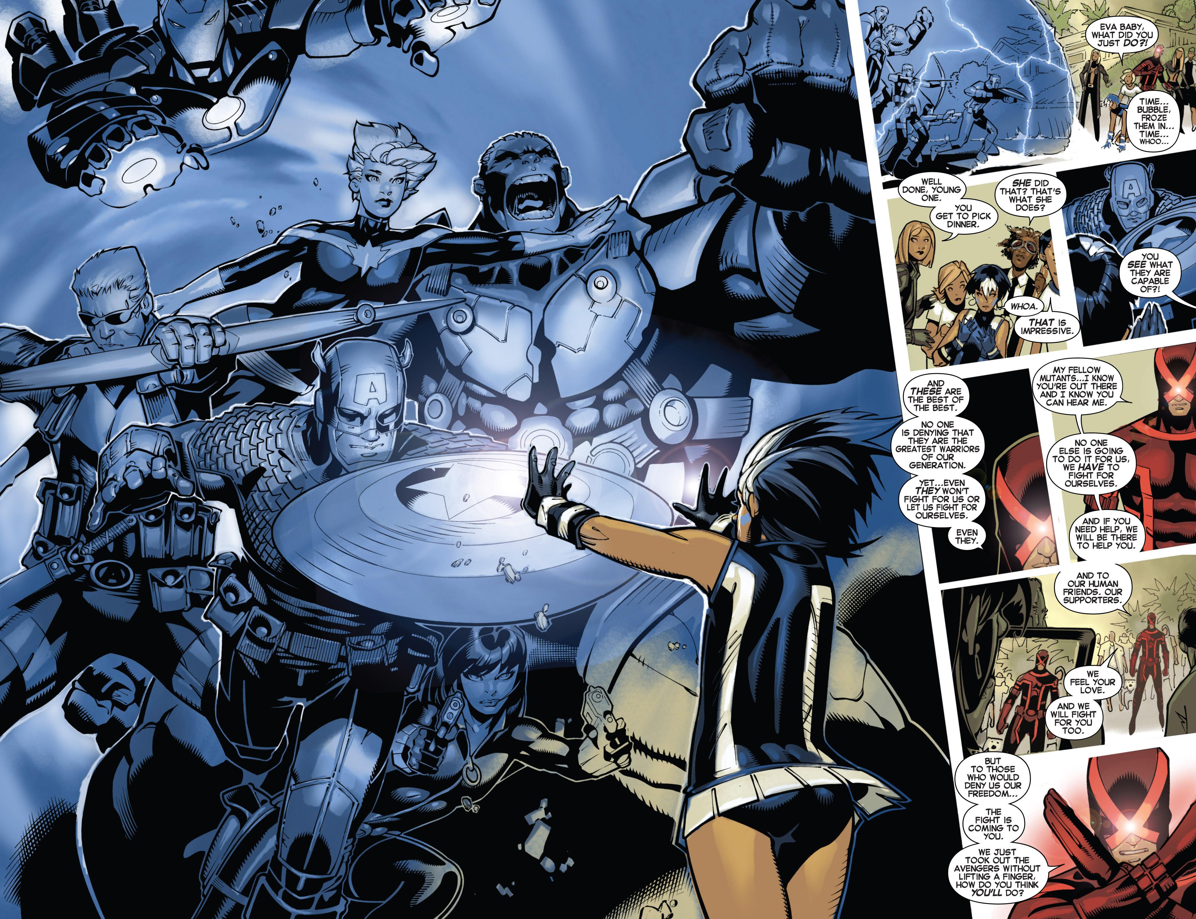 Read online Uncanny X-Men (2013) comic -  Issue # _TPB 1 - Revolution - 56