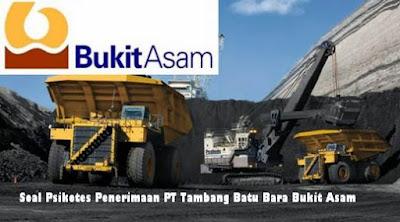 Psikotes PT Bukit Asam