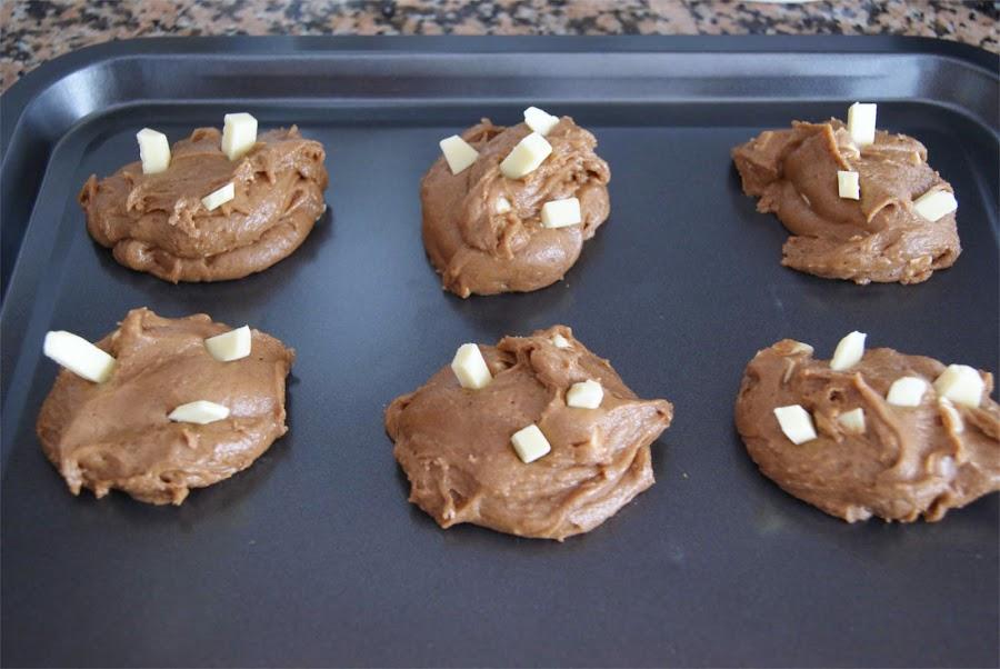 receta de cookies paso 5