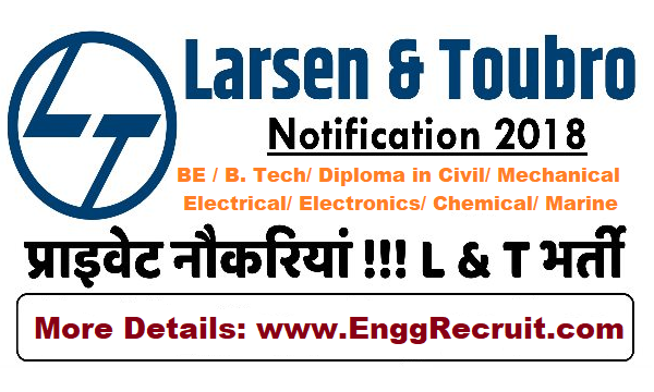 L&T Recruitment 2018