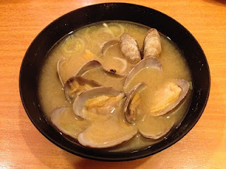 Asari no Miso Shiru ; Miso Soup with Asari Clams