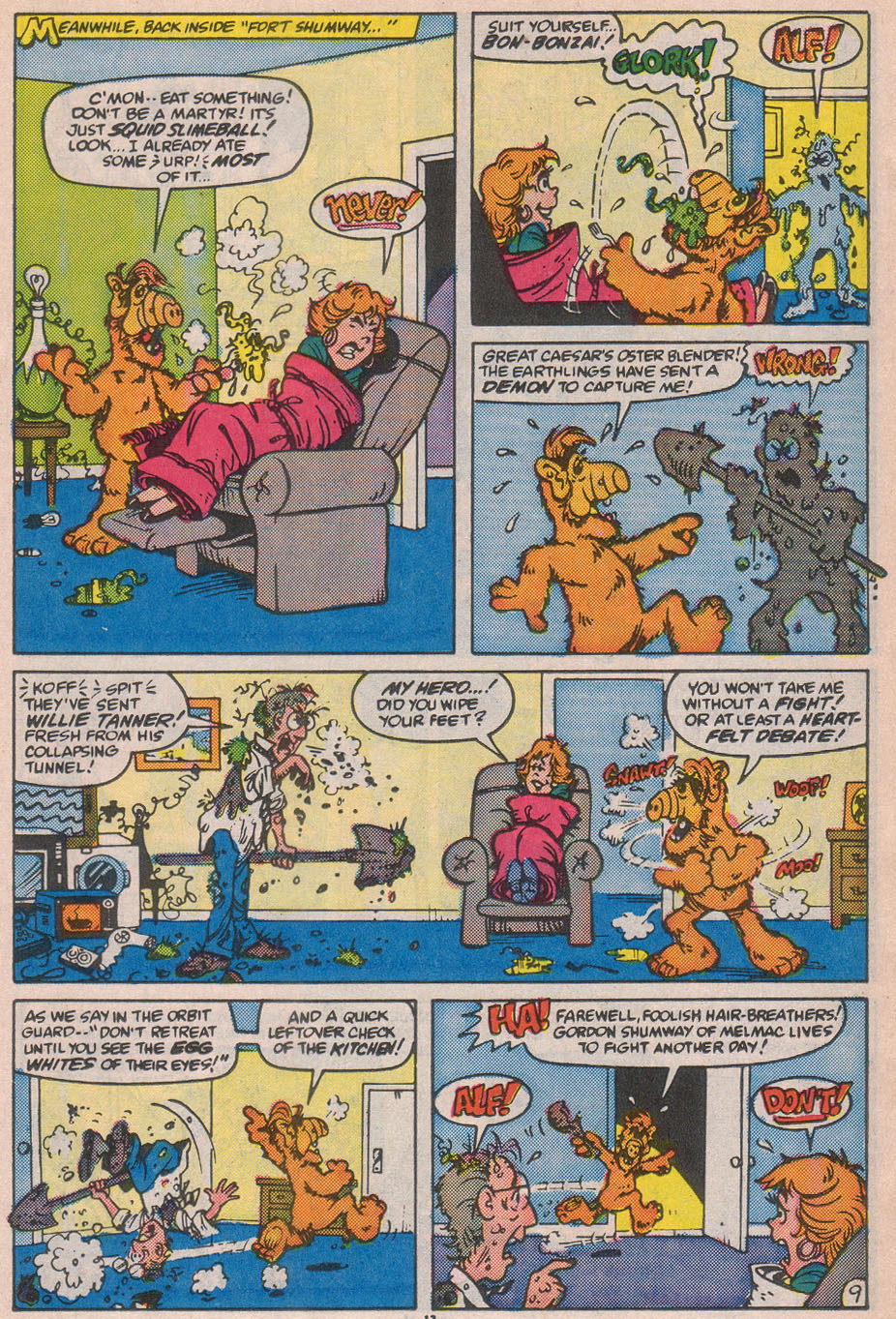 Read online ALF comic -  Issue #12 - 15