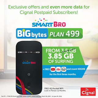 Smart Bro Bigbytes Plan 499