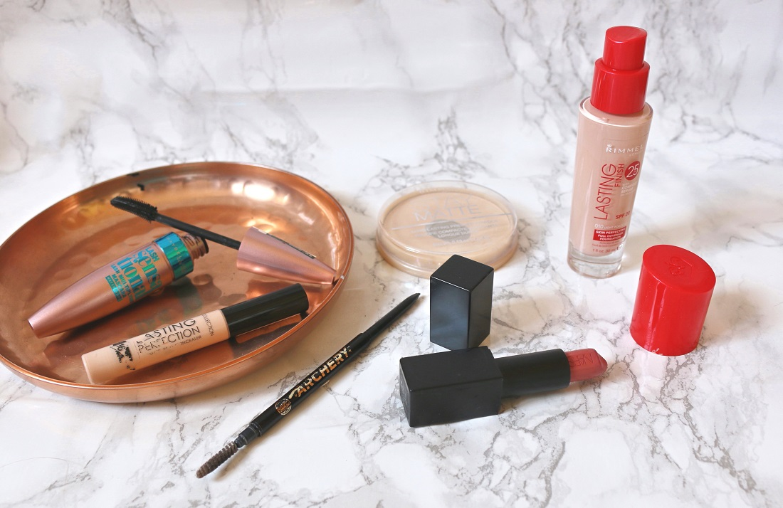 Products I'll Always Repurchase Maybelline, Collection, Rimmel, Soap & Glory and NARS