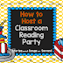 How To Host A Classroom Reading Party!