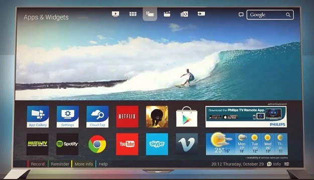 Philips finally launches its first Android-based HD TV