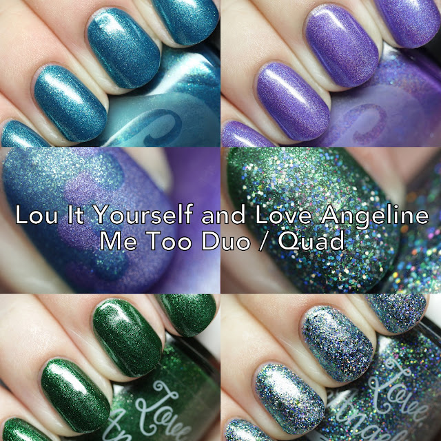Lou It Yourself and Love, Angeline Me Too Duo/Quad