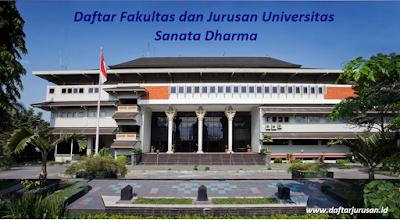 Daftar Fakultas dan Jurusan USD Universitas Sanata Dharma Sleman Terbaru