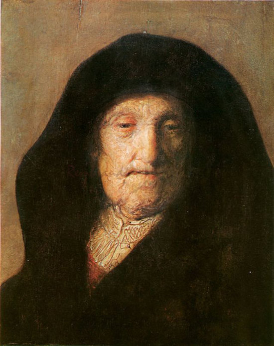 Rembrandt, Portrait of the Artist's Mother, 1630