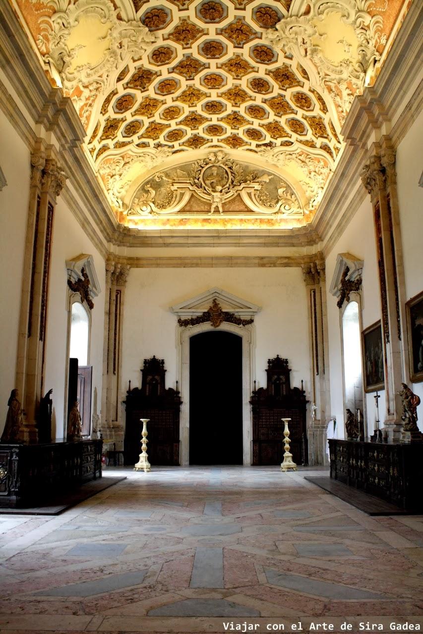 sacristía nueva Alcobaça