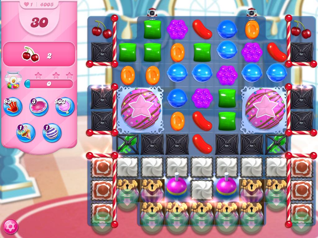 Candy Crush Saga level 4005