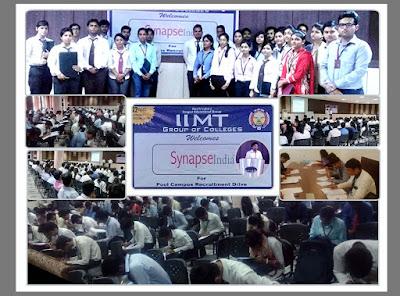 SynapseIndia Recruitment Drive at IIMT