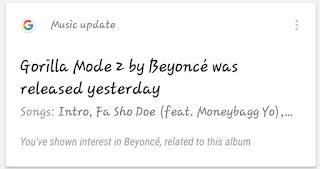 Beyoncé Gorilla Mode 2