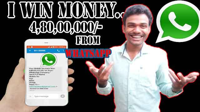 win money in whats app