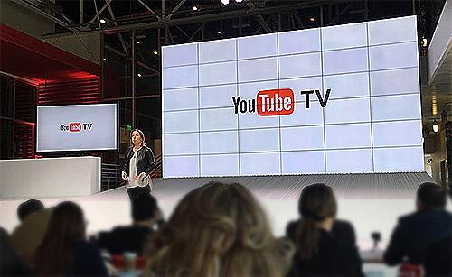 جوجل تكشف عن تطبيق YouTube TV للتلفزيونات الذكية