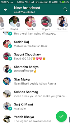 whatsapp share problume,whatsapp share