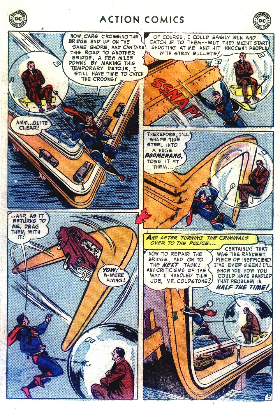 Read online Action Comics (1938) comic -  Issue #192 - 10