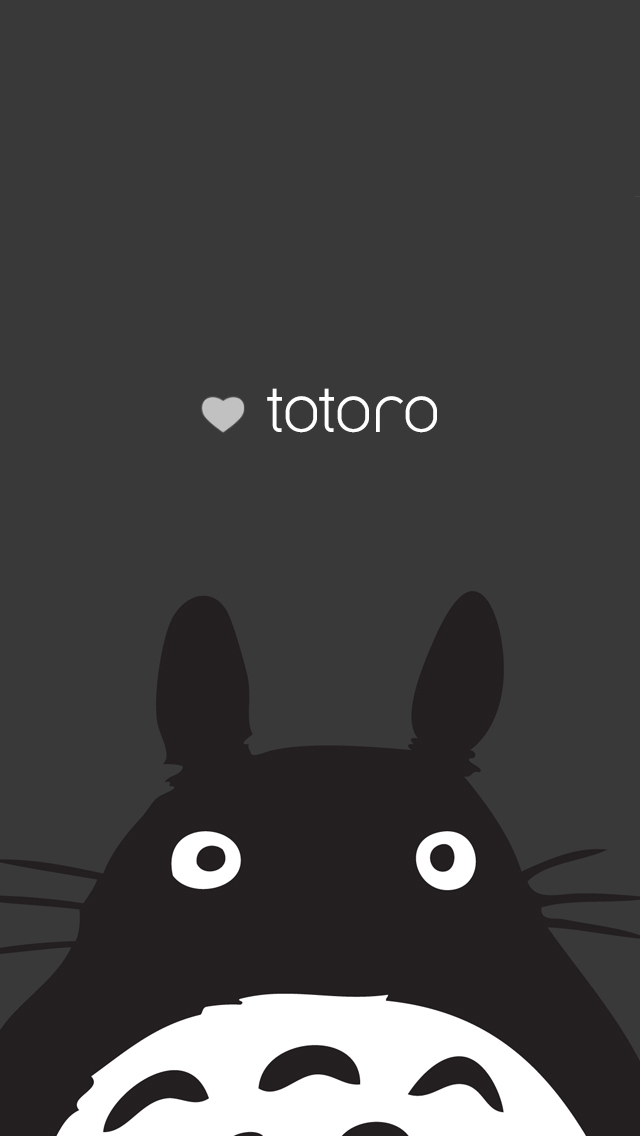 Be linspired iphone backgrounds - Totoro wallpaper iphone ...