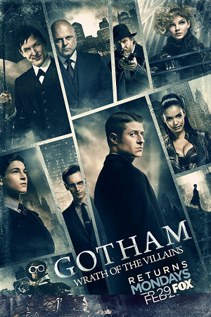 Gotham S03 All Episode [Season 3] Complete Download 480p