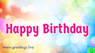 Sparkling Happy Birthday Wishes Greetings