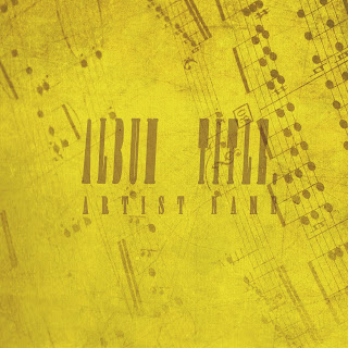 Professional CD design recommended for musicians that take music theory seriously - this stylish album cover features a sharp yellow tint with Photoshop style feel - You won't get this with free album cover design software - Great for instrumental music albums